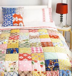 Exactly the kind of quilt i ADORE!