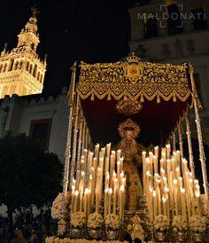 Nuestra Señora de la Cabeza en la revirá de Hernando Colón. Hermandad de las Siete Palabras