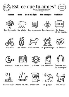Printing Videos Clothes Belts Learn French With Alexa Presents Basic French Words, French Phrases, How To Speak French, Learn French, French Learning Books, French Teaching Resources, Teaching French, French Expressions, French Language Lessons
