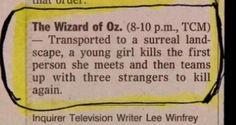 wizard of oz descrition - Google Search
