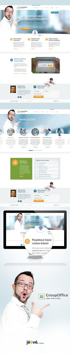 Web Design for the Czech distributor online office. by Jan Vašek, via Behance