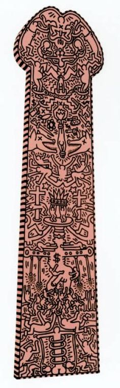 the great white way di keith haring