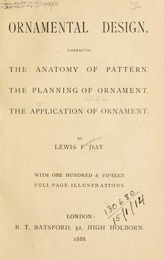 Ornamental design, embracing The Anatomy of pat...