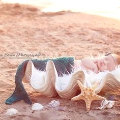 Mermaid baby! Ahhhh I love it!