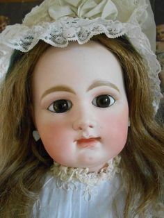 **Huge 31,2 inches Rabery et Delphieu, closed mouth***wonderful !**