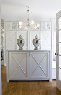 Closet. Closet Cabinet Ideas. Closet with custom cabinets and island. #Closet #ClosetCabinet #ClosetIsland  2 Ivy Lane