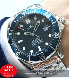 Omega Seamaster Professional Automatic 300 Meter 41mm James Bond Full Set #militarywatches #omegaseamaster #seamaster