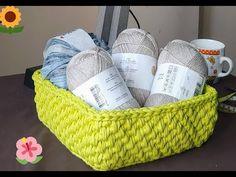 Corbeille crochet - YouTube Crochet Video, Diy Crochet, Diy And Crafts, Basket, Make It Yourself, Pots, Youtube, Channel, Watch