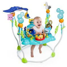 Baby Jumper Activity Seat Finding Nemo Bouncer Jumperoo Toy ...