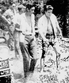 """Elvis Presley on location in Flordia for his ninth movie """"Follow That Dream"""" - summer 1961"""