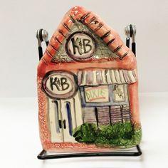 #Louisiana #neworleans #plaque K & B Fine Clay Plaque