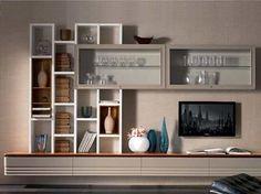 parete attrezzata cartongesso : parete attrezzata in cartongesso Loft & Co - My next House ...