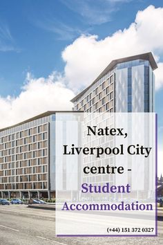 Natex, Liverpool is one of the most prominet student accommodation in Liverpool City Centre, Offering students with a truly exceptional experience. Number of amenities Available. Invest in Natex, Liverpool. #visit to the site to see Liverpool best property . Call us 0151 372 0327. Liverpool City Centre, Good Student, Investing, Multi Story Building, Real Estate, Estate Agents, Students, House, Number