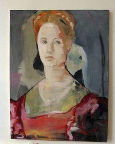 """Saatchi Art Artist Irene Van Den Bos; Painting, """"BRONZINO REVISITED"""" #art"""