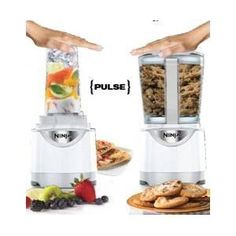 I LOVE this thing!  Ninja Kitchen System Pulse Blender with BLENDER CUPS.  Oh MY Gosh - this is a must buy if you love smoothies or protein shakes.  SERIOUSLY - I love mine.  It is AMAZING!  It's approx $55, but if you use a Bed Bath and Beyond 20% coupon you can get it cheaper!
