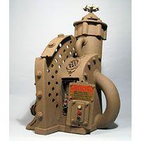 Machines - Gallery - John Brickels, Architectural Sculpture and Claymobiles, Essex Jct, Vermont