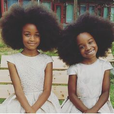 We do this for the little brown girls, who'll grow up confident with the mindset that their natural is beautiful. Cute Black Babies, Beautiful Black Babies, Black Kids, Beautiful Children, Natural Hairstyles For Kids, Natural Hair Styles, We Are The World, Brown Girl, Pretty Baby