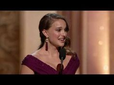 "Natalie Portman winning Best Actress ""The Black Swan"""