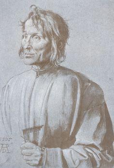 Portrait of an Architect, 1506, Albrecht Dürer