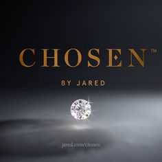 This holiday, discover Chosen. The diamond with a journey as rare and unique as the love you share. Available, only at Jared.