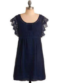 Blue dress....