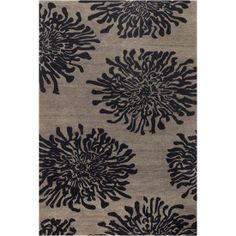 Buy the Surya Brown 2 x 3 Direct. Shop for the Surya Brown 2 x 3 Bombay Hand Tufted New Zealand Wool Rug and save. Wool Area Rugs, Beige Area Rugs, Wool Rug, Bombay, Thing 1, Floral Area Rugs, Contemporary Area Rugs, Modern Rugs