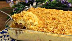 Fricassé de frango com batata palha para aproveitar a sobrinha de forma deliciosa