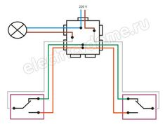 how is the passage switch connected Electrical Diagram, Electrical Wiring Diagram, Electrical Projects, Electrical Installation, Electronic Engineering, Electrical Engineering, Diy Electronics, Electronics Projects, Circuit Diagram