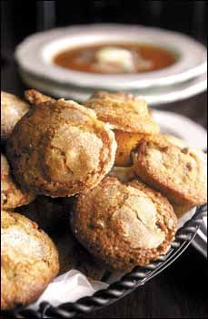 My favorite Sweet Potato Muffins from Christiana Campbell's Tavern in Colonial Williamsburg.