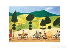Rush Hour on the Road to Lushoto Prints by Sam Toft at AllPosters.com