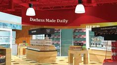Englefield Oil's Duchess Shoppes gets a foodservice makeover. Links to article.