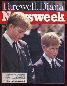 Photos of Princess Diana's funeral | Princess Diana Funeral, Prince William and Harry - September 15, 1997 ...