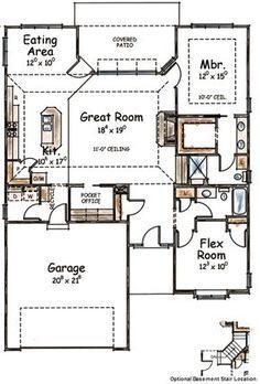 Awesome-Two-Bedroom-House-Plans-Cabin-Cottage-House-Plans-Floorplan