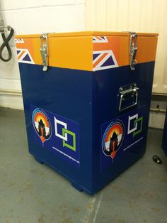 Packing case designed and manufactured by Bampton Packaging Ltd for the Bloodhound SCC project. For more information on the packaging solutions we can offer here at Bamptons please call our sales office on 0115 9868601 or email enquiries@bamtponpackaging.co.uk