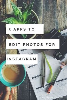 The top 5 apps to edit Instagram photos for Android and iPhone! #instagram #instagramtips #iphoneography