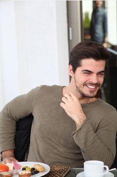 Handsome Male Models, Most Handsome Men, Handsome Actors, Hot Actors, Handsome Boys, Actors & Actresses, Turkish Men, Turkish Beauty, Turkish Actors
