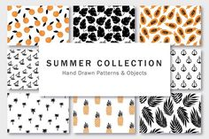Summer Collection by Type and Graphics Lab on @creativemarket