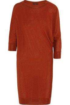 Alexander McQueen Wool sweater dress | NET-A-PORTER | € 695
