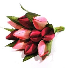 Spring Tulip Bouquet | Dunelm