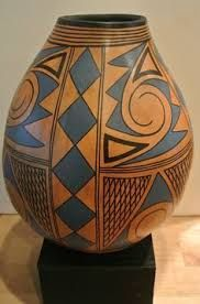 Items similar to SALE/Amazing hand painted Huge/Large gourd tall signed by the artist-Private Collection on Etsy Decorative Gourds, Hand Painted Gourds, Native American Pottery, Native American Art, Flower Pot Design, Bubble Art, Southwest Art, Gourd Art, Pottery Painting