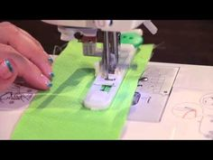 How to Use an Automatic Buttonhole Foot - YouTube: This is the best tutorial I've found!
