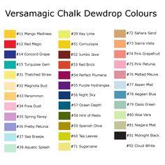 VersaMagic DewDrop Chalk Pads