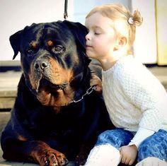 My best friend #kidswithdogs #kidswithpets