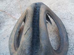 Compostagem e Educação Ambiental: Como fazer um cisne com pneus...