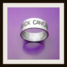 #Silverring FUCK CANCER