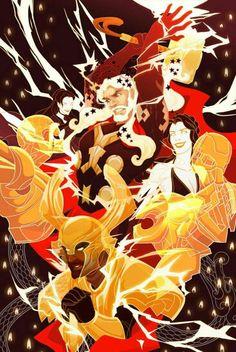 Thor, Heimdall & Hella