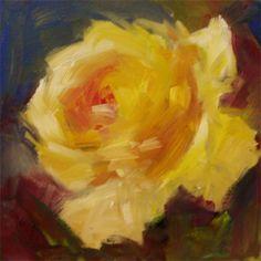 original floral paintings - Ro se paintings