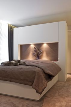 Charlotte Emmerig www. Bedroom Closet Design, Home Bedroom, Master Bedroom, Bedroom Decor, Room Interior, Interior Design Living Room, Casa Patio, Parents Room, Paint Colors For Living Room