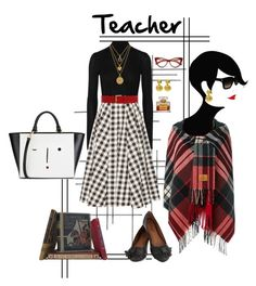 """""""~Teacher~"""" by confusgrk ❤ liked on Polyvore featuring Crate and Barrel, Jason Wu, Michael Kors, Vivienne Westwood, B-Low the Belt, Lulu Guinness and Juicy Couture"""