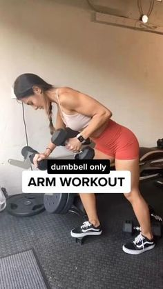 Fitness Workouts, Gym Workout Videos, Fitness Workout For Women, Easy Workouts, Workout Men, Upper Body Dumbbell Workout, Dumbbell Workout Routine, Workout With Dumbbells, Gym Routine
